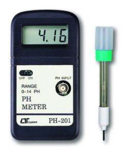 pH Meter, PH-201-Lutron