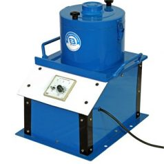 Electrically operated bitumen extractor