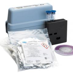 Copper color disc test kit (free & total) CU-6 test kit hach test kit kit supplier kit manufacturer