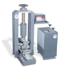 Flexural testing machine