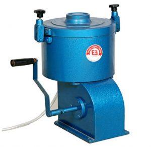 Hand operated bitumen extractor