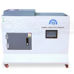Thermal conductivity test apparatus for AAC blocks